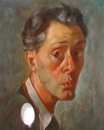 Pál, Molnár C. self-portrait