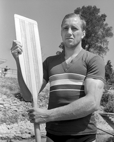 Tibor Tatai, olympic gold medalist, canoe 1
